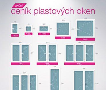 Ceník plastových oken